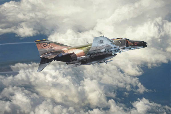 F-4 Wall Art - Digital Art - The Seeker by Peter Chilelli