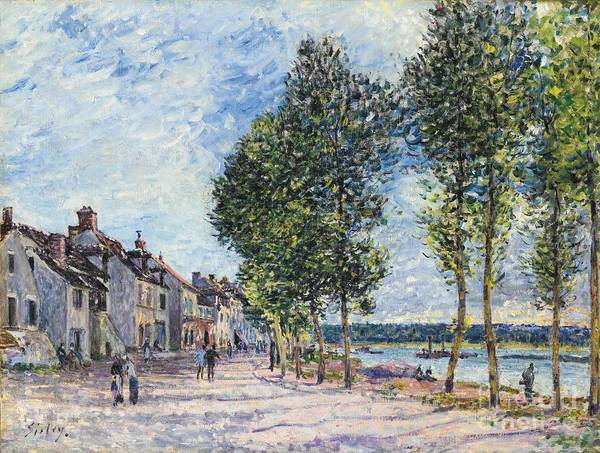 Painting - The Seine  by Celestial Images