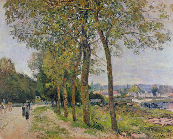 River Seine Painting - The Seine At Marly by Alfred Sisley