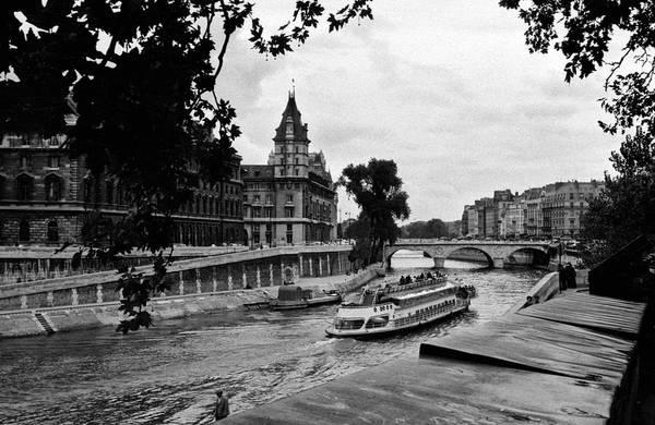 Photograph - The Seine Paris1 by Lee Santa
