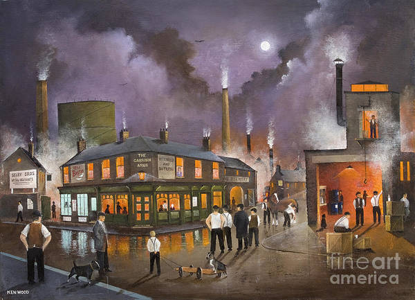 Painting - The Selby Boys by Ken Wood