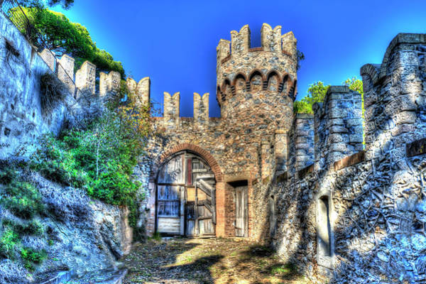 Photograph - The Senator Castle - Il Castello Del Senatore by Enrico Pelos