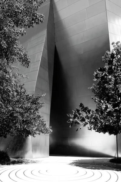 Photograph - The Sensuous Secret Portal At Disney Hall by Lorraine Devon Wilke