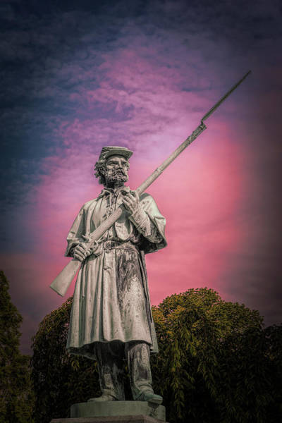 Graveyard Wall Art - Photograph - The Sentinel by Tom Mc Nemar