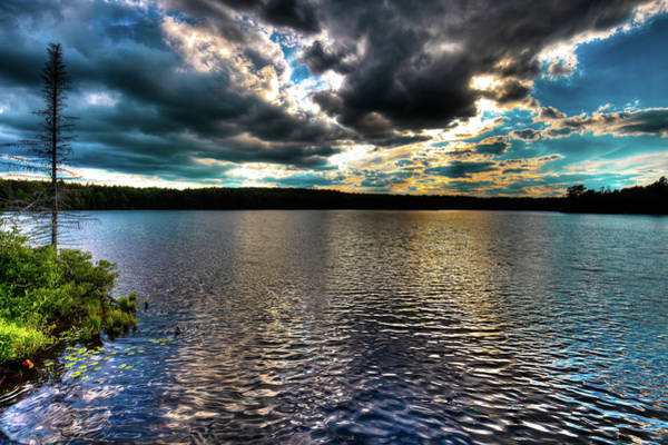 Photograph - The Serenity Of Nicks Lake by David Patterson