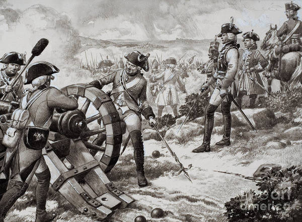 Wall Art - Painting - The Seven Years' War by Pat Nicolle