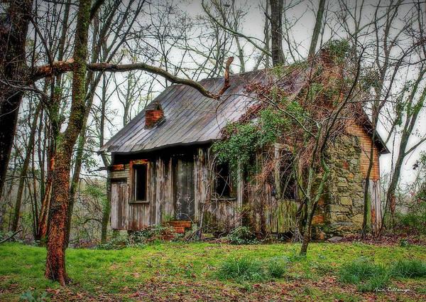 Photograph - The Shack Rural Georgia Art by Reid Callaway