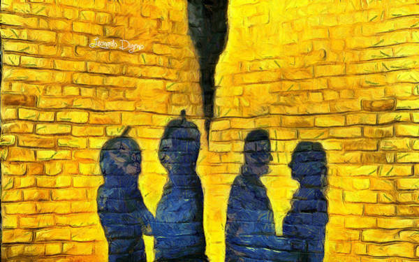 Subjective Digital Art - The Shadow - Da by Leonardo Digenio