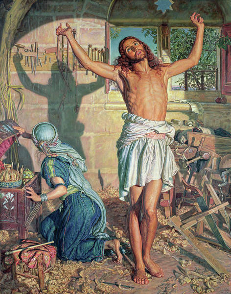 Wall Art - Painting - The Shadow Of Death by William Holman Hunt