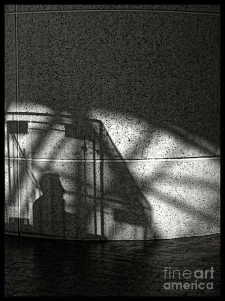 The Shadow Of A Man Art Print