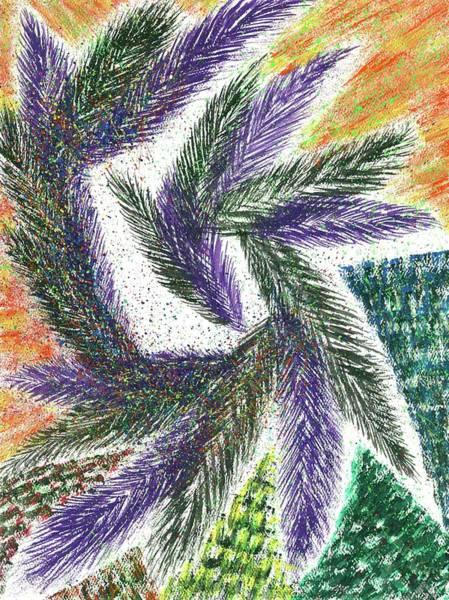 Hallucination Painting - The Shaman's Journey #615 by Rainbow Artist Orlando L
