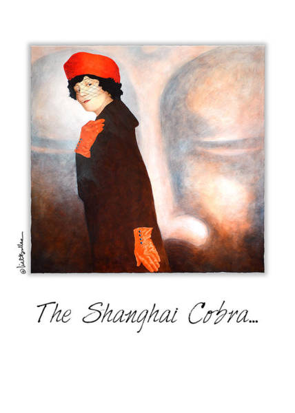 Painting - The Shanghai Cobra... by Will Bullas