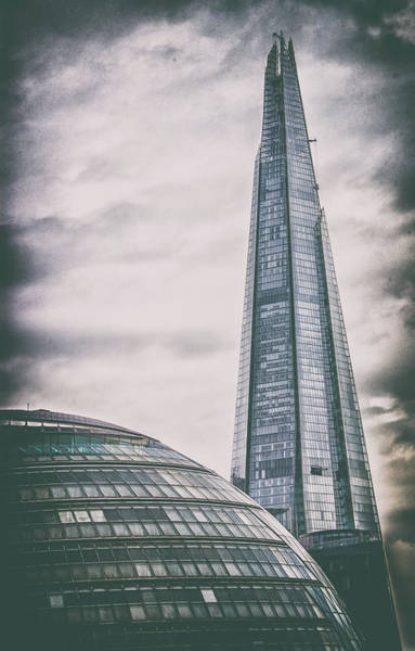 Wall Art - Photograph - The Shard And City Hall by Martin Newman