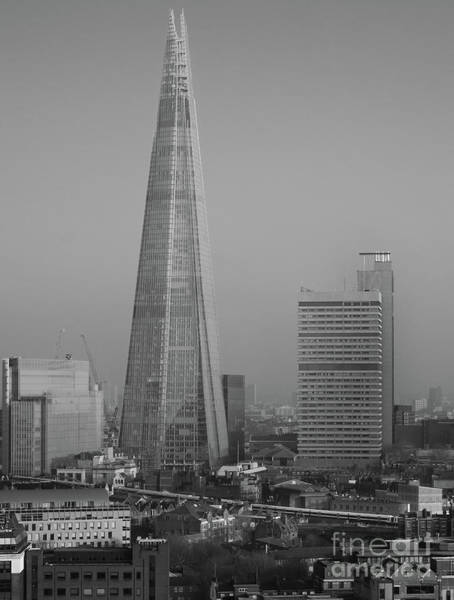 Photograph - The Shard, London by Perry Rodriguez