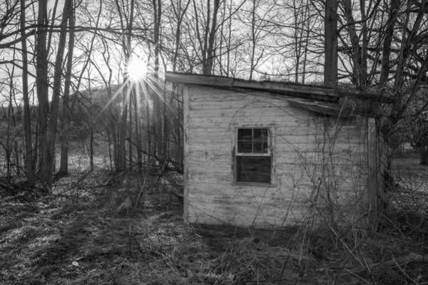 Photograph - The Shed by Sara Hudock