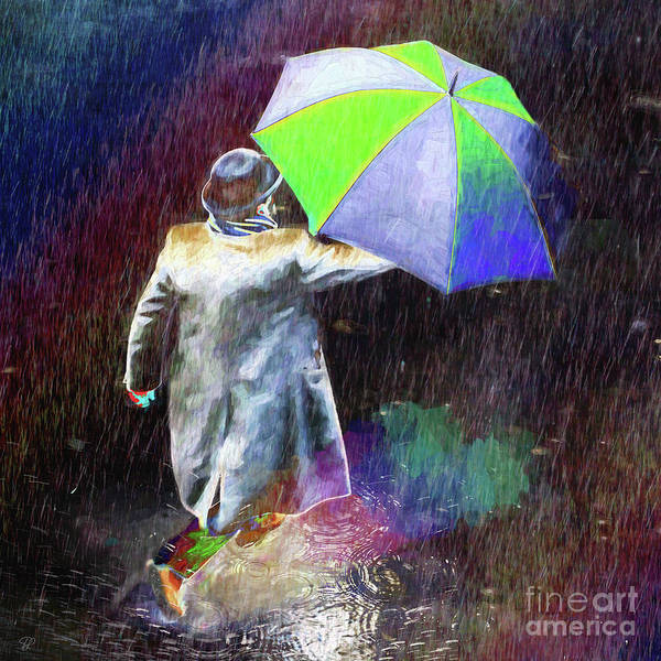 Photograph - The Sheer Joy Of Puddles by LemonArt Photography