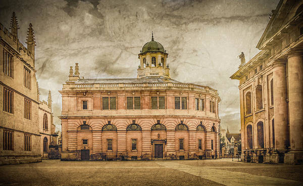Photograph - Oxford, England - The Sheldonian Theater by Mark Forte