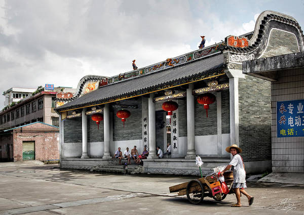 Photograph - The Shilong Temple by Endre Balogh
