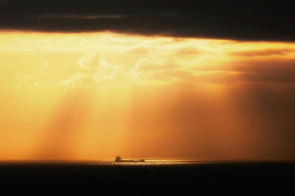 Photograph - The Ship by Mikel Martinez de Osaba