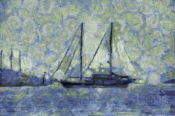 Wall Art - Photograph - The Ship Van Gogh by David Pyatt