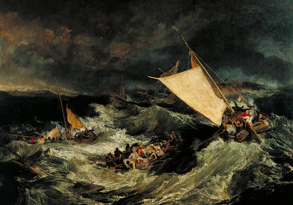 Painting - The Shipwreck by Joseph Mallord William Turner