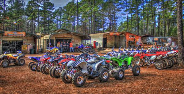 Dirt Bike Photograph - The Shop Durhamtown Plantation Motocross Rentals Art by Reid Callaway