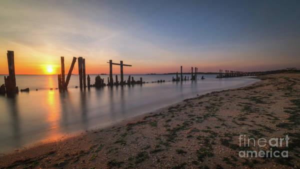 Sandy Hook Wall Art - Photograph - The Shoreline  by Michael Ver Sprill
