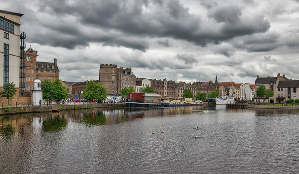 Photograph - The Shores In Leith by Jeremy Lavender Photography