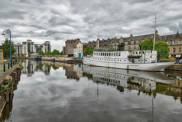 Photograph - The Shores Of Leith by Jeremy Lavender Photography