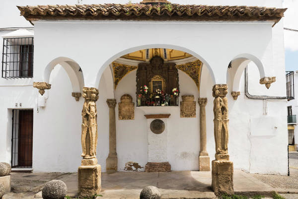 Photograph - The Shrine Of The Hanged In Ronda by RicardMN Photography