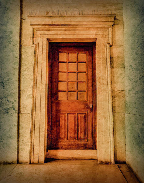 Photograph - Athens, Greece - The Side Door by Mark Forte