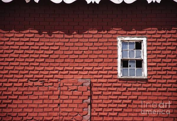 Photograph - The Side Of A Barn by Debra Fedchin