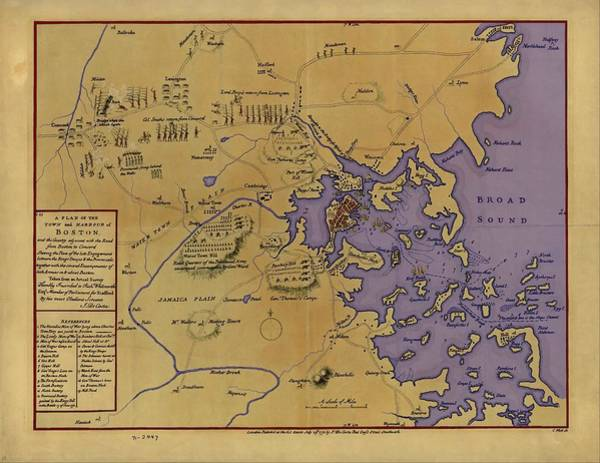 Digital Art - The Siege Of Boston by John Feiser