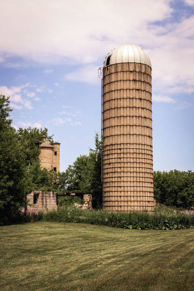 Photograph - The Silo by Kim Hojnacki