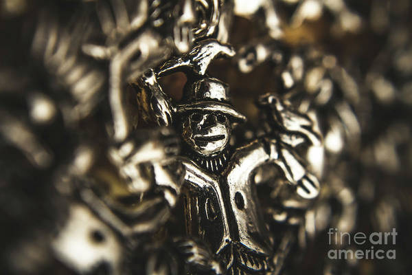 Decorating Photograph - The Silver Strawman by Jorgo Photography - Wall Art Gallery