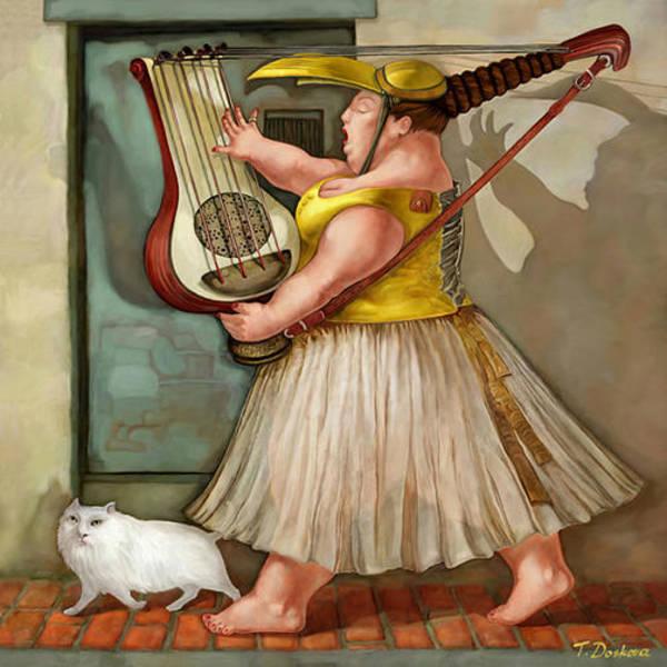 Sausalito Painting - The Singing Bride by Tanya Doskova