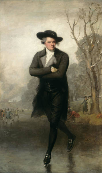 Painting - The Skater by Gilbert Stuart
