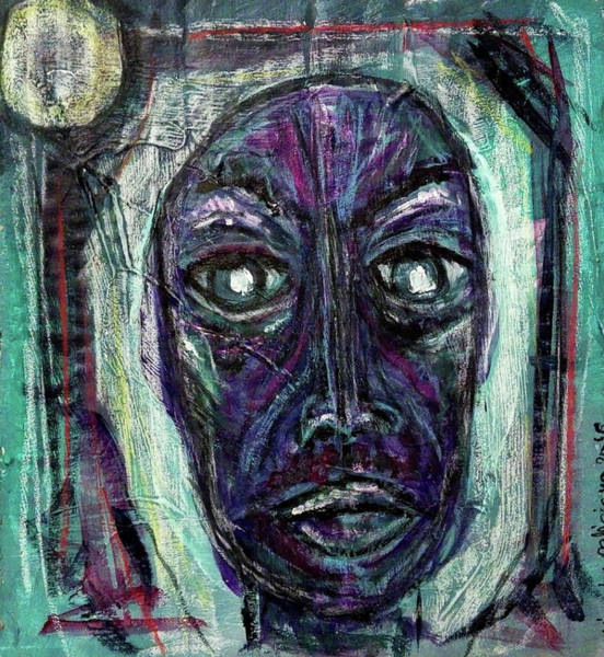 Mixed Media - The Skeptic by Mimulux patricia No