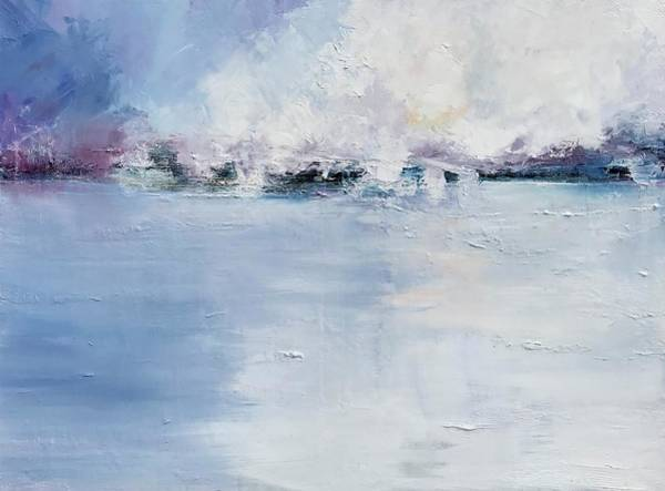 Wall Art - Painting - The Sky And The Sea  by Julia S Powell