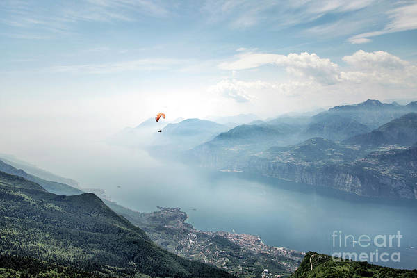 Hazy Wall Art - Photograph - The Sky Is The Limit by Evelina Kremsdorf