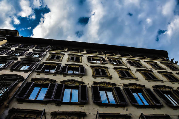 Photograph - The Sky Over Verona by Chris Coffee