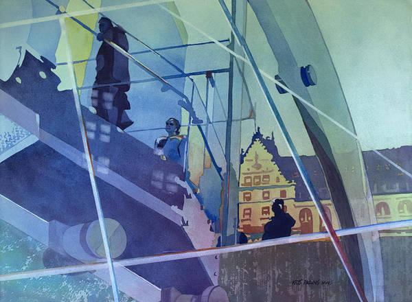 Park Avenue Painting - The Sky's The Limit by Kris Parins