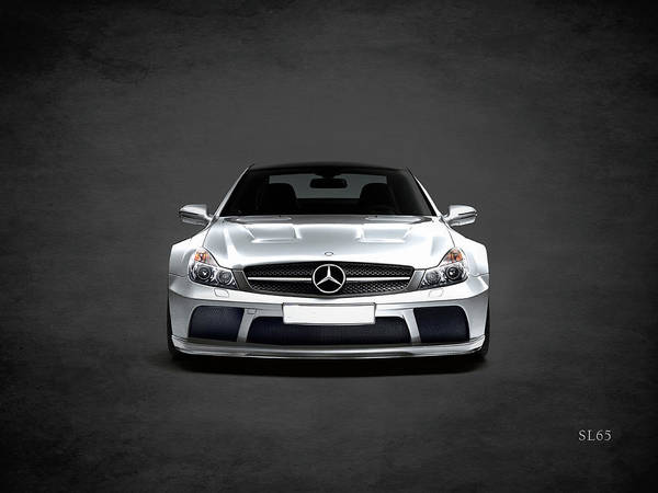 Mercedes Photograph - The Sl65 by Mark Rogan