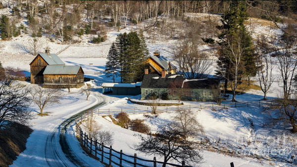 Photograph - The Sleepy Hollow Farm by Scenic Vermont Photography