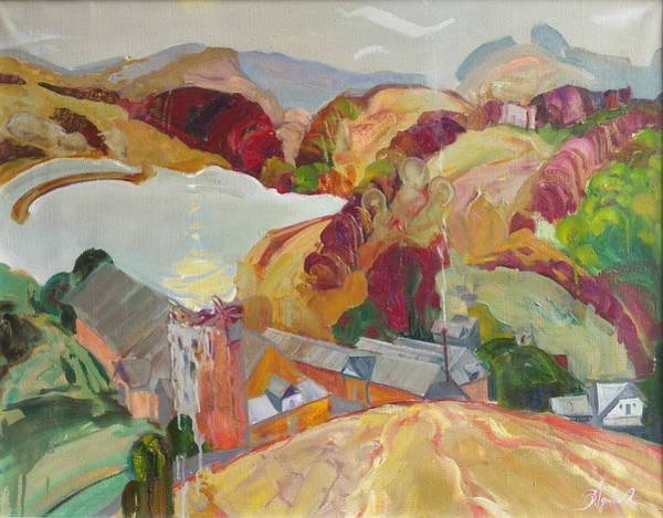 Ignatenko Painting - The Slovechansk Edge by Sergey Ignatenko
