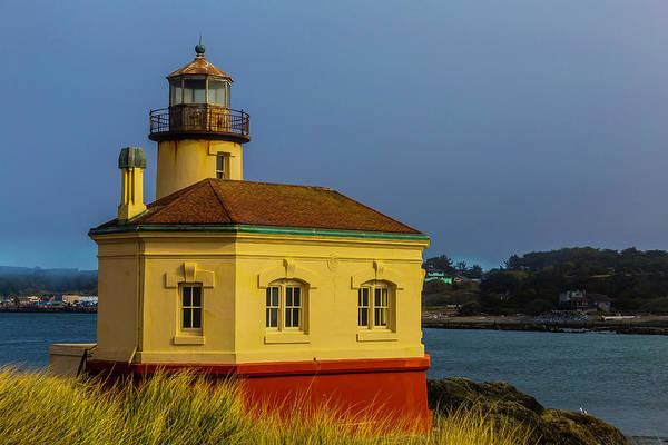 Wall Art - Photograph - The Small Coquille River Lighthouse by Garry Gay