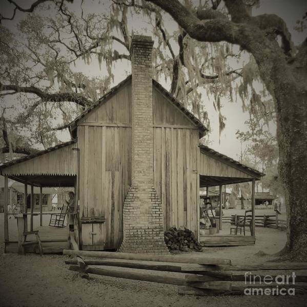 Photograph - The Smith Cracker House Sepia by D Hackett