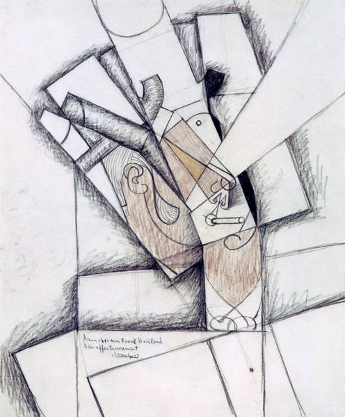 Wall Art - Painting - The Smoker by Juan Gris