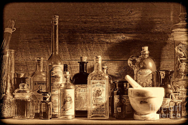 Photograph - The Snake Oil Shop by American West Legend By Olivier Le Queinec