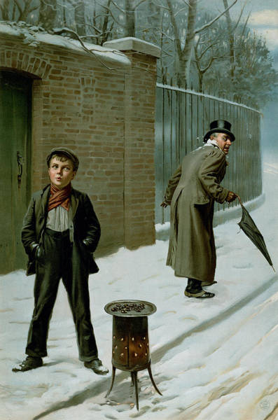 Annual Painting - The Snowball by H Pittard